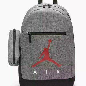 Nike Unisex Jordan AIR 2 pc Set Backpack Carbon L